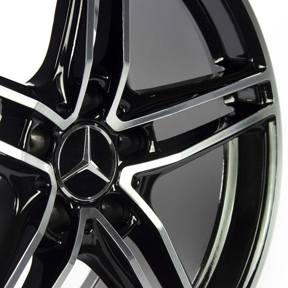 Jogo De Rodas Mercedes AMG GT Aro 19 5x112 Tala 8,5 GT7 BD