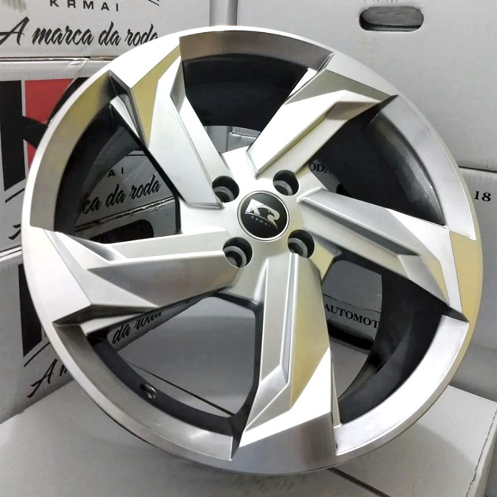 Jogo De Rodas Audi Prologue Aro 15 4x100 Tala 6 K60 BG