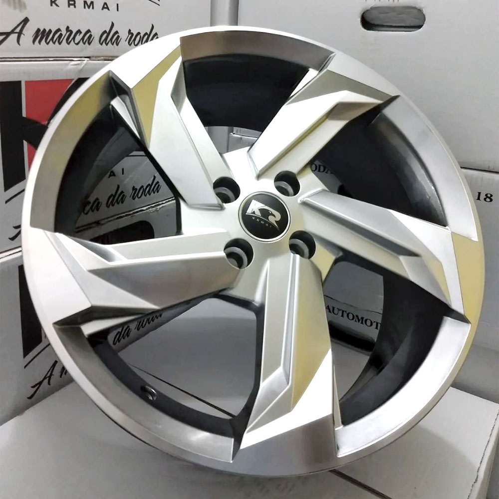 Jogo De Rodas Audi Prologue Aro 17 4x100 Tala 7 K60 BG
