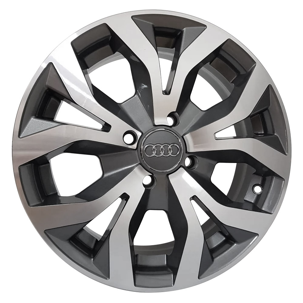 Jogo De Rodas Audi RS6 Aro 15 4x100 Tala 6 R35 GD
