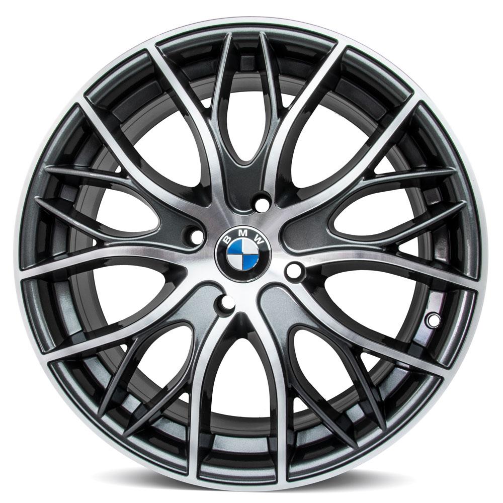 Jogo De Rodas BMW 335I Bi Turbo Aro 17 4x100 Tala 7 R54 GD