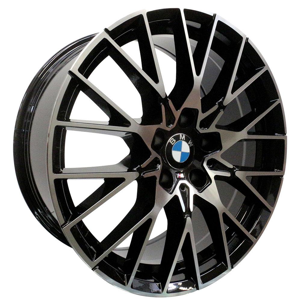 Jogo De Rodas BMW M2 Aro 19x8,5 5x120 Presenza Black
