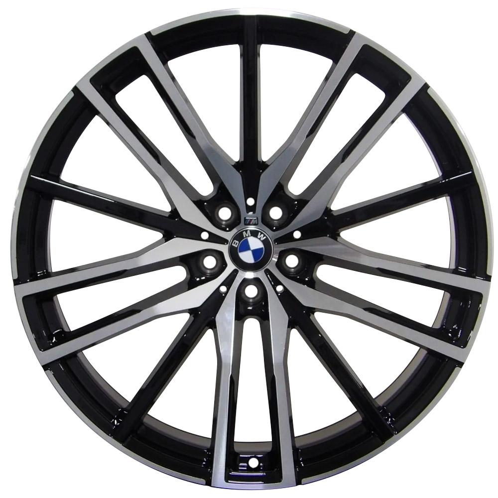 Jogo De Rodas BMW X5M Aro 20x8,5 5x112 Presenza BD
