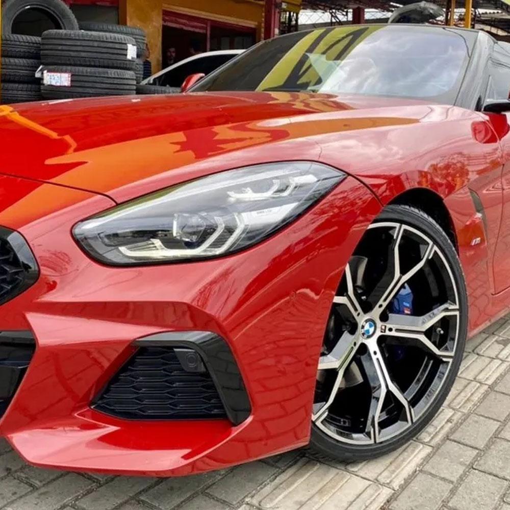 Jogo De Rodas BMW X6 Aro 20x9,0 5x112 Presenza 1538 BD