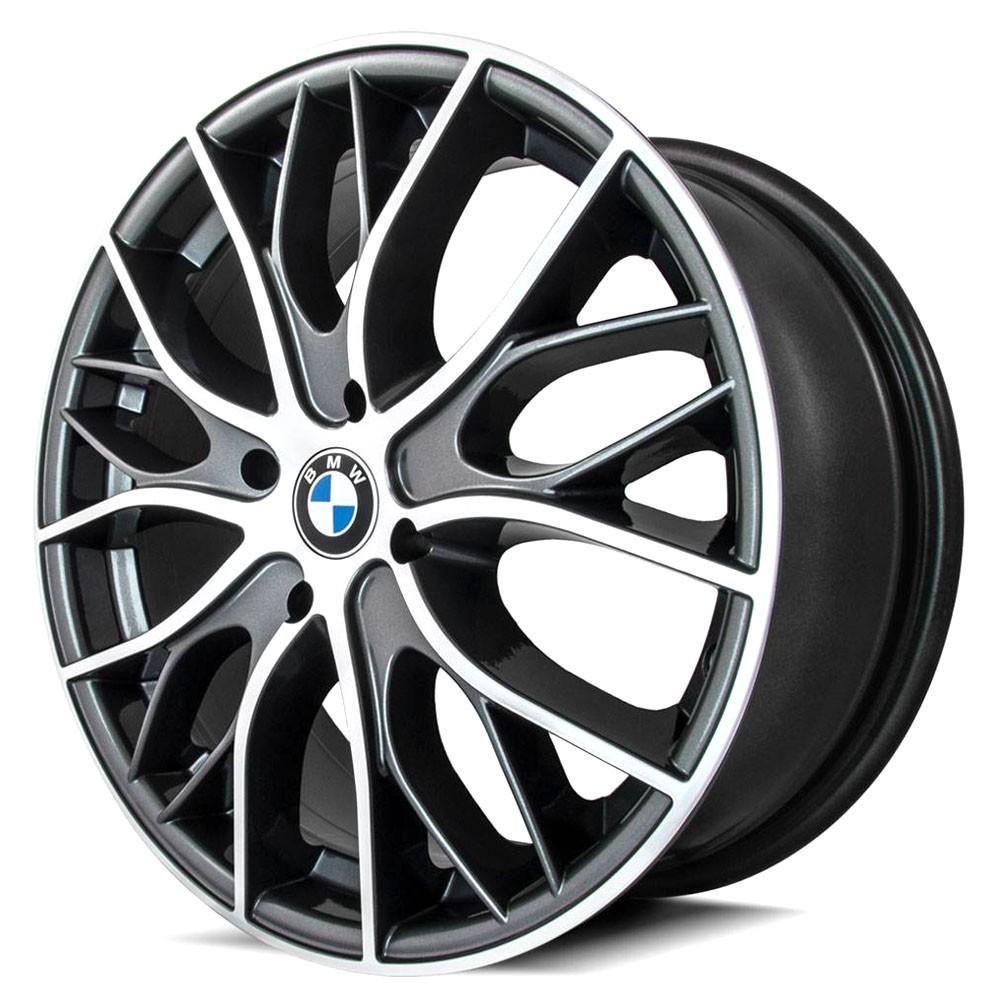 Jogo de Rodas Esportivas BMW 335i Bi Turbo Aro 20 4x100 R54 GD