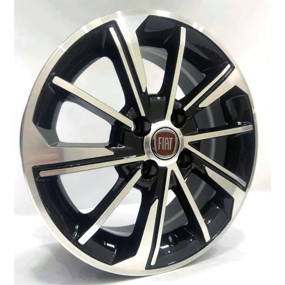 Jogo de Rodas Fiat Cronos Aro 15 4x98 ZK875 BD