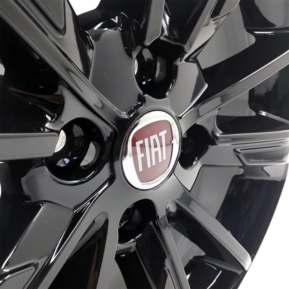 Jogo de Rodas Fiat Cronos Aro 17 4x98 S03 Black