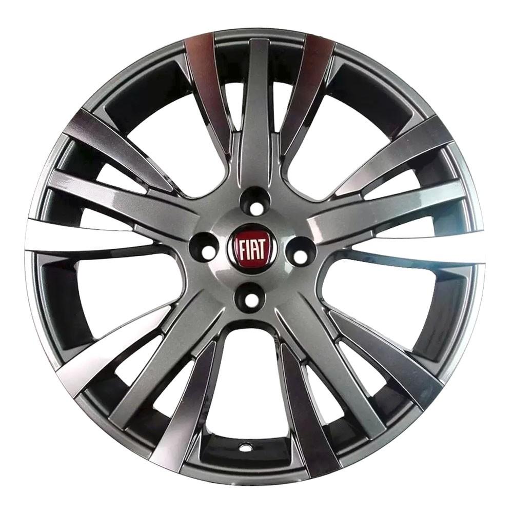 Jogo de Rodas Fiat Palio Sporting Aro 15 4x98 ZK480 GD