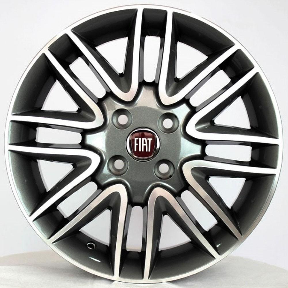Jogo de Rodas Fiat Punto Sporting Aro 15 R14 GD