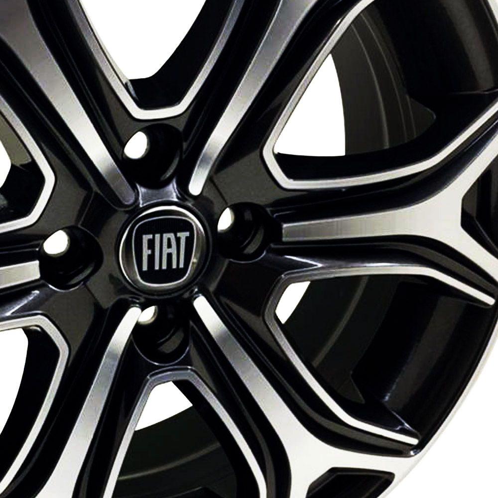 Jogo De Rodas Fiat Strada 2021 Aro 15 4x98 Tala 6 S29 BD