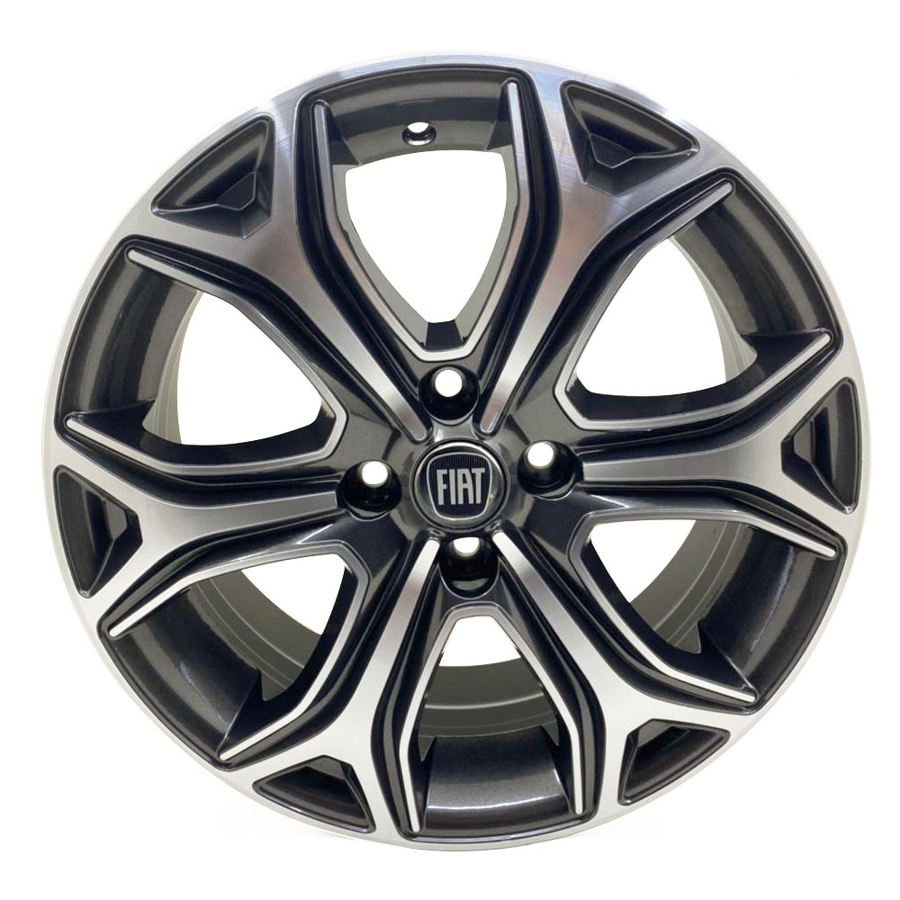 Jogo De Rodas Fiat Strada 2021 Aro 15 4x98 Tala 6 S29 GFD