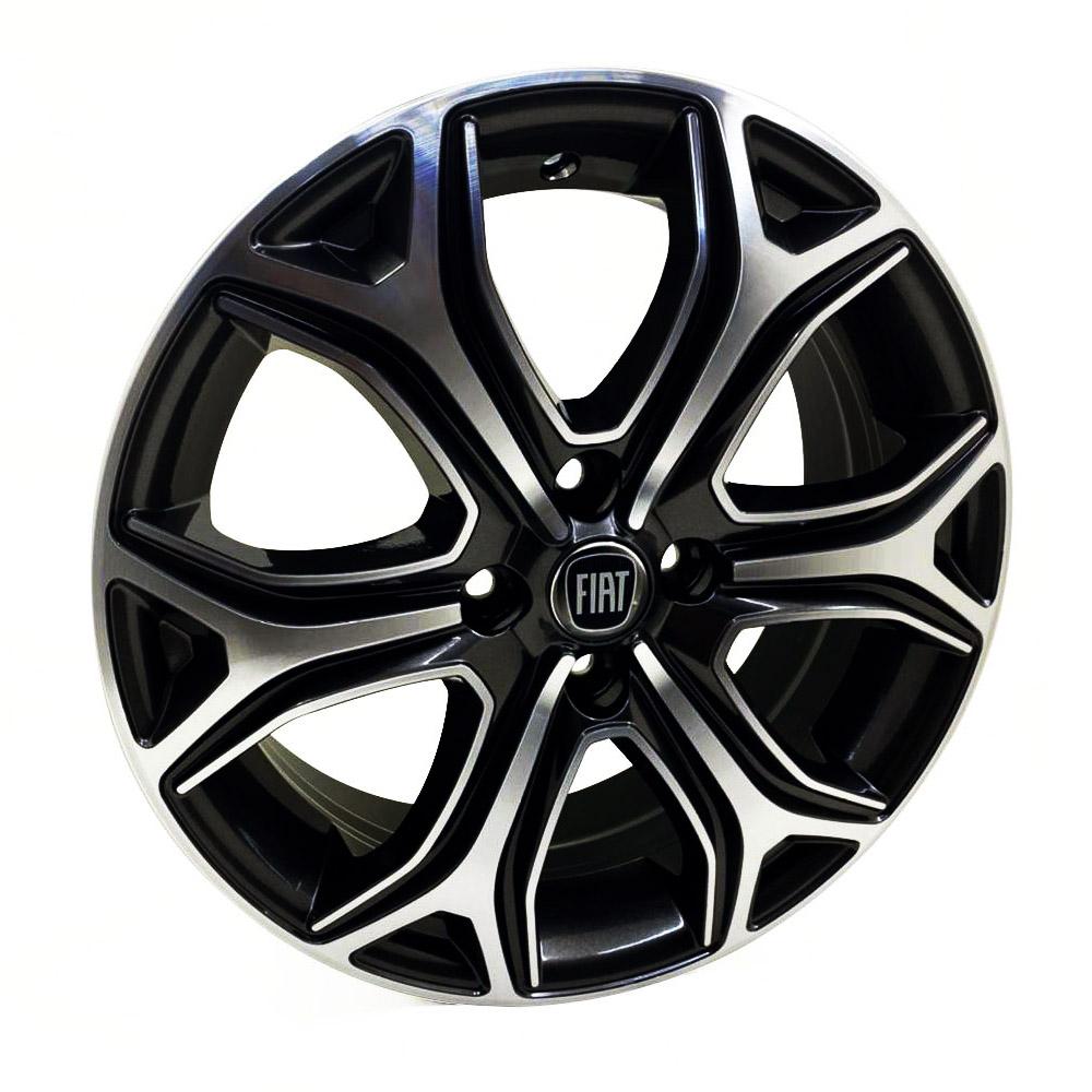 Jogo De Rodas Fiat Strada 2021 Aro 16 4x98 Tala 6 S29 BD