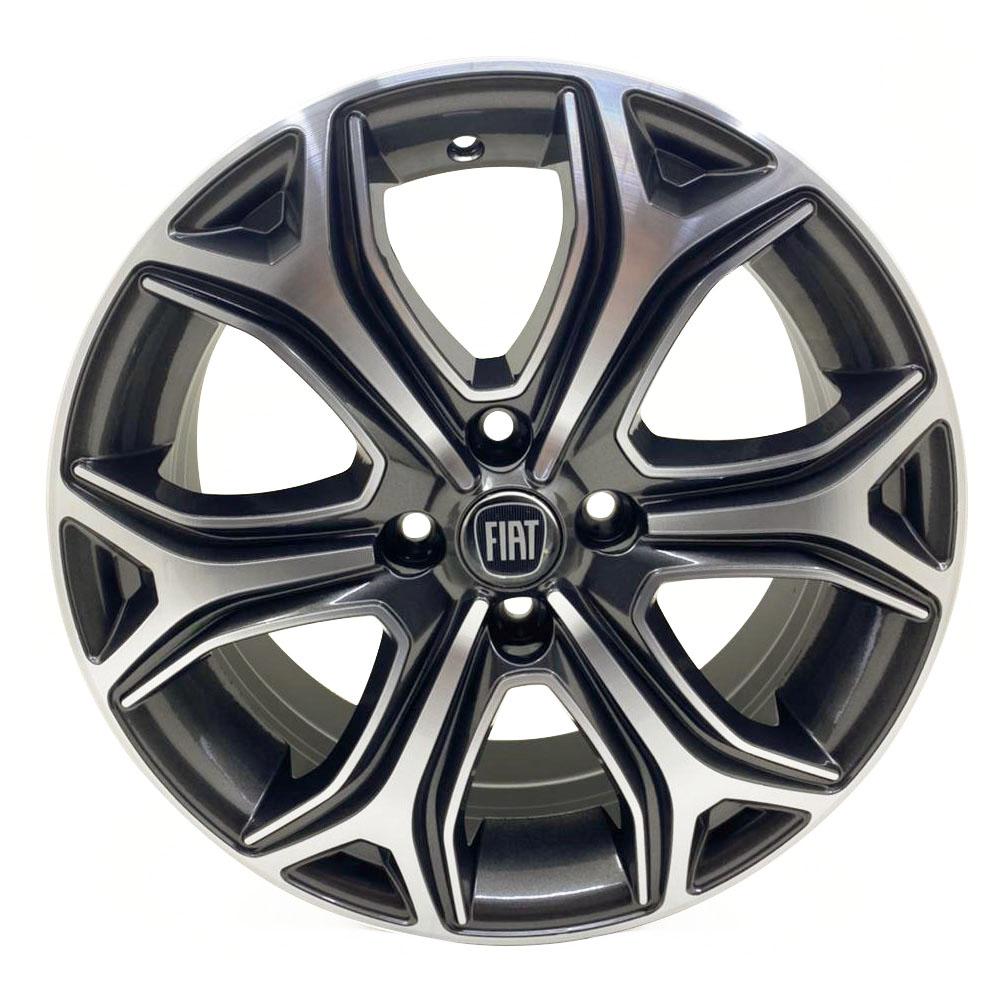 Jogo De Rodas Fiat Strada 2021 Aro 16 4x98 Tala 6 S29 GFD
