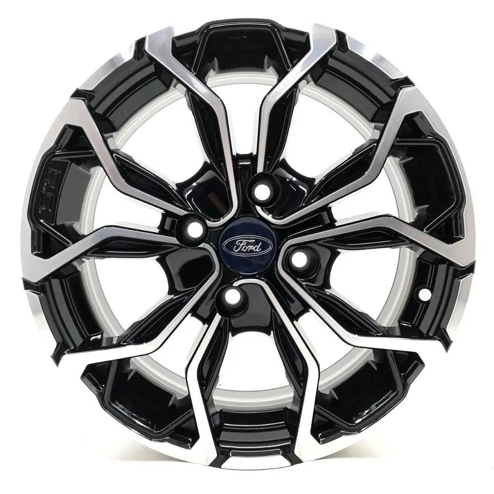 Jogo de Rodas Ford Fiesta aro 16X6,0 4X108 Tala 42 BD M16