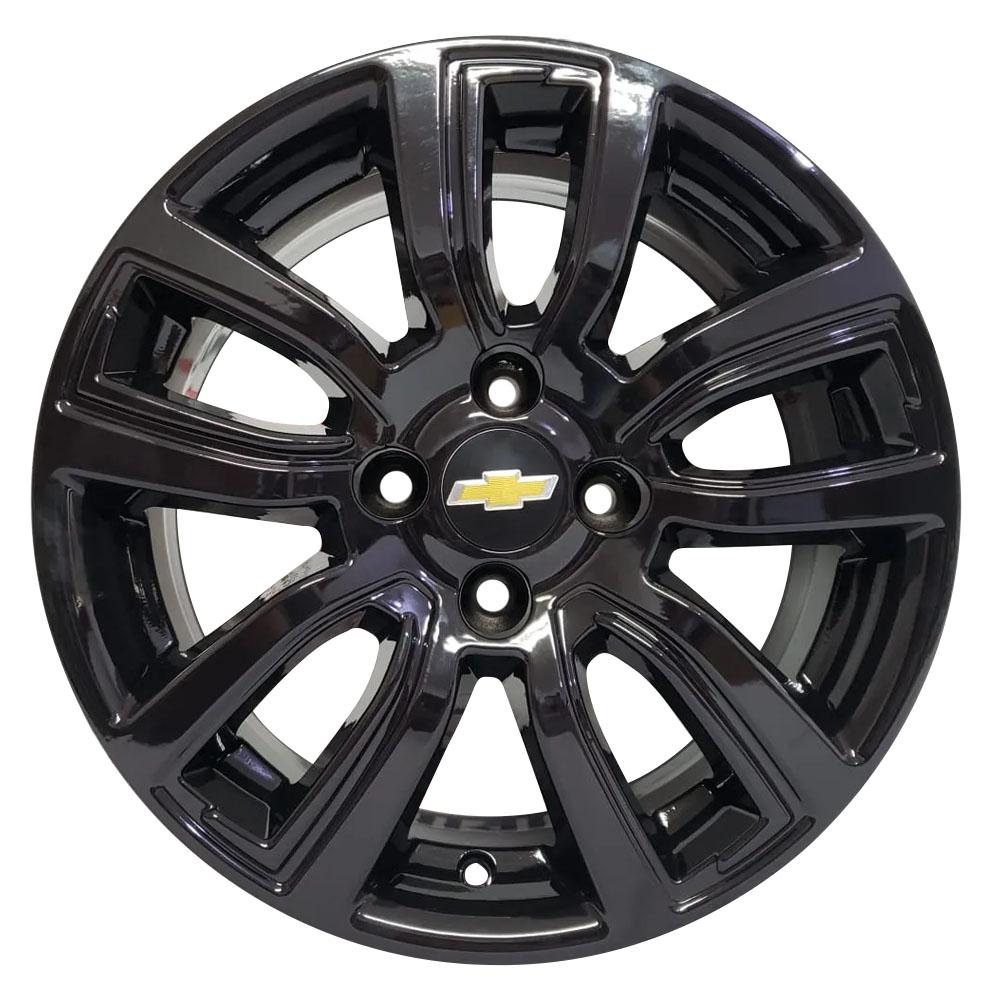 Jogo De Rodas GM Onix Active Aro 14 4x100 Tala 6 R80 Black