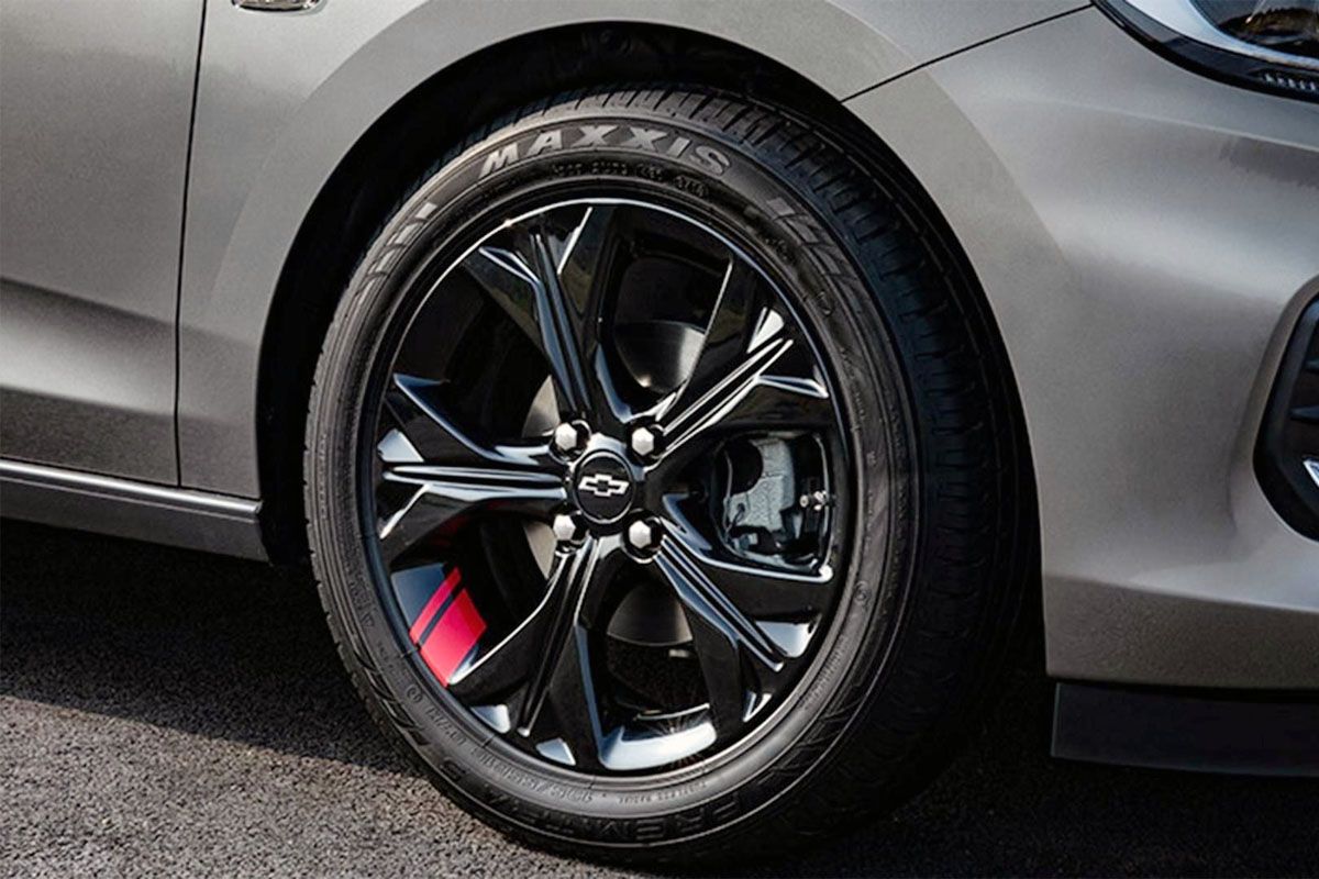 Jogo De Rodas GM Onix Prisma 2020 Aro 15 4x100 Tala 6 S21 Black