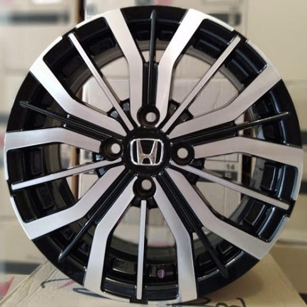 Jogo de Rodas Honda City Aro 15 4x100 BRW 1350 BD
