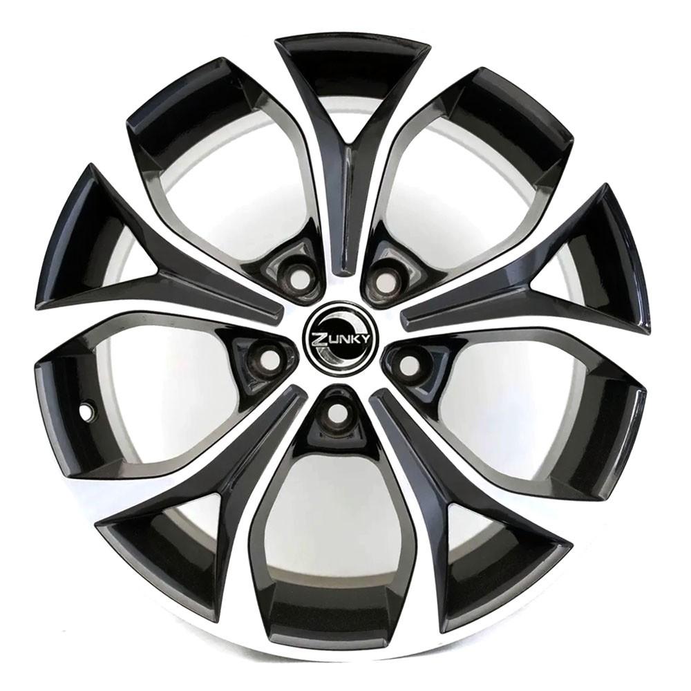 Jogo de Rodas Honda Civic 2012 Aro 17x7 5x114 ZK510 BD