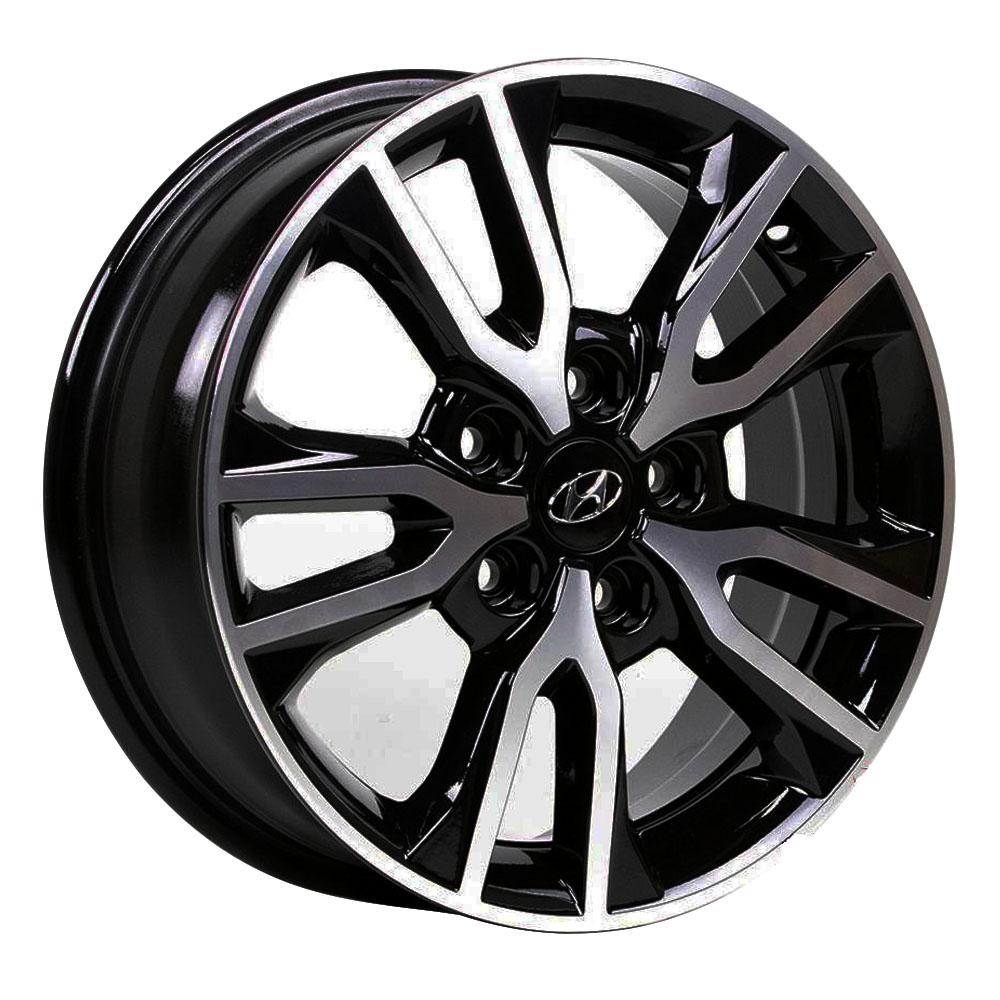 Jogo De Rodas Hyundai Creta Aro 16 5x114,3 Tala 6 R98 BD