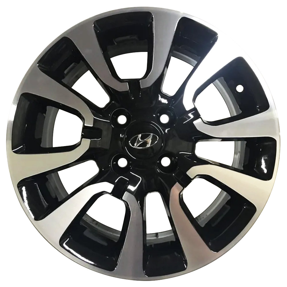 Jogo De Rodas Hyundai HB20 Aro 15 4x100 Tala 6 S06 BD
