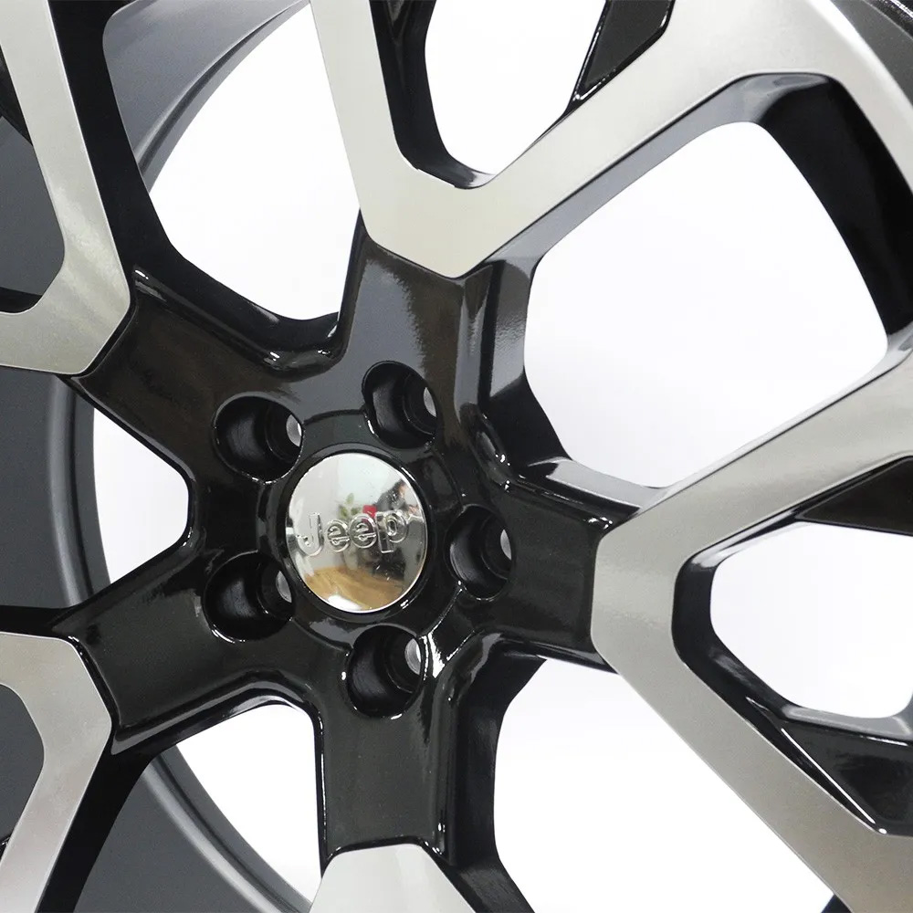 Jogo De Rodas Jeep Compass Renegade Limited Aro 20x8,5 5x110 GT7 BD