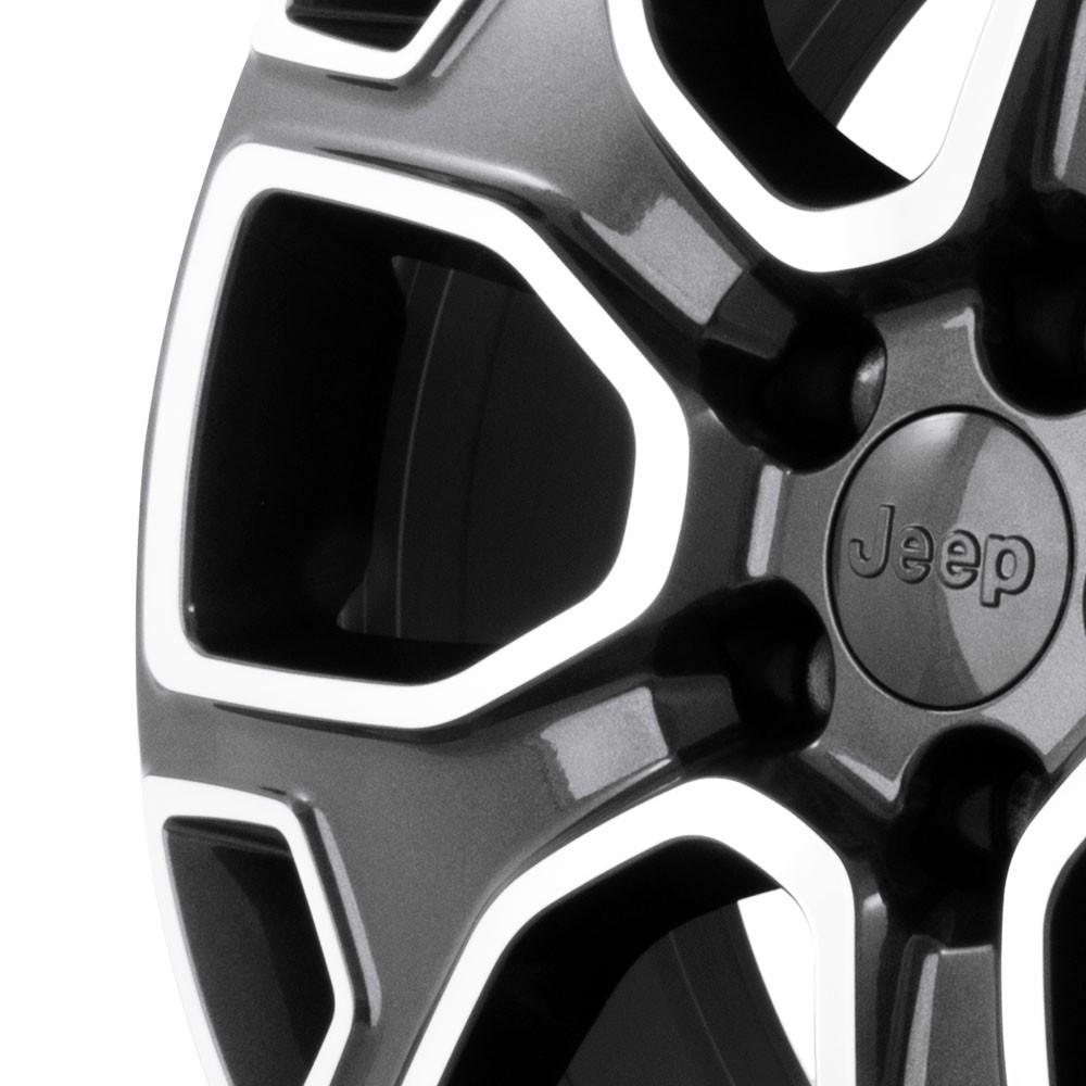 Jogo de Rodas Jeep Renegade 2017 Aro 16 5x110 R76 GD