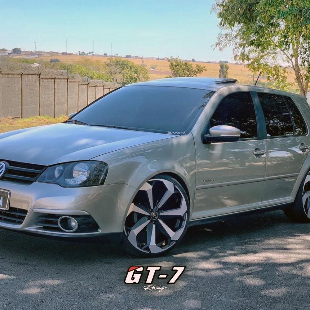 Jogo de Rodas Jetta Tsi 2019 Golf Mk7 Aro 20x8 5x112 GT7 BD