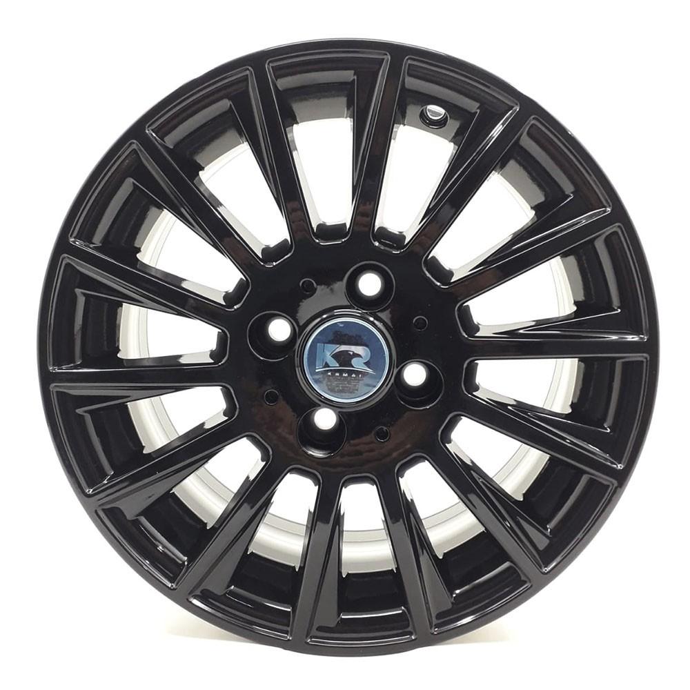 Jogo de Rodas Mercedes C63 AMG Aro 14 4x108 R66 Black