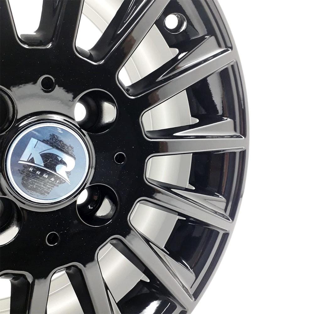 Jogo de Rodas Mercedes C63 AMG Aro 15 4x100 R66 Black