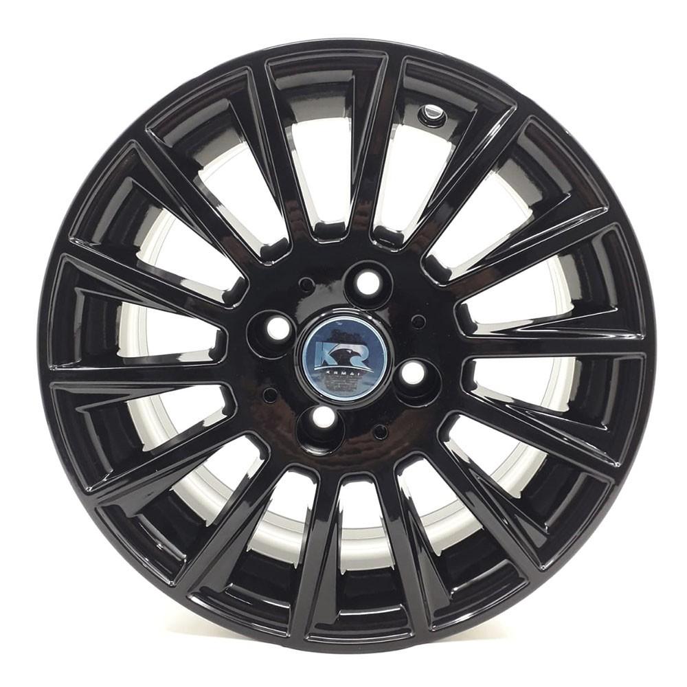 Jogo de Rodas Mercedes C63 AMG Aro 17 4x108 R66 Black