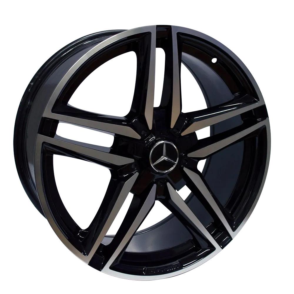 Jogo De Rodas Mercedes C63 Aro 19x8,5 5x112 ZWMA2 Zeus BD