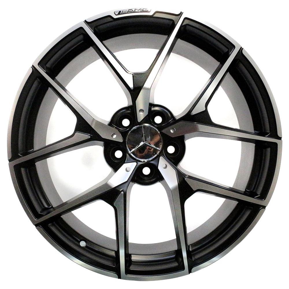 Jogo De Rodas Mercedes C63 Aro 20x8,5 5x112 Presenza 1225 BD