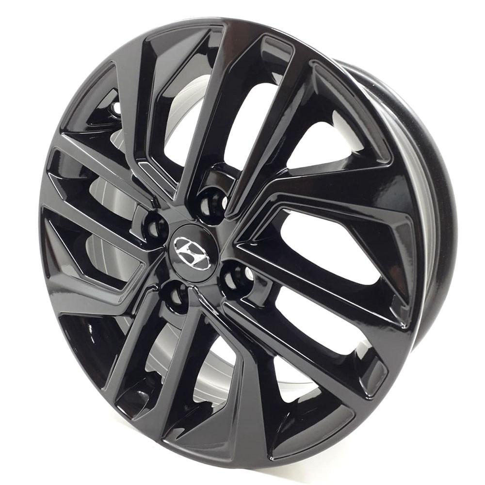 Jogo de Rodas New Hyundai Hb20 2020 Aro15 S20 Black