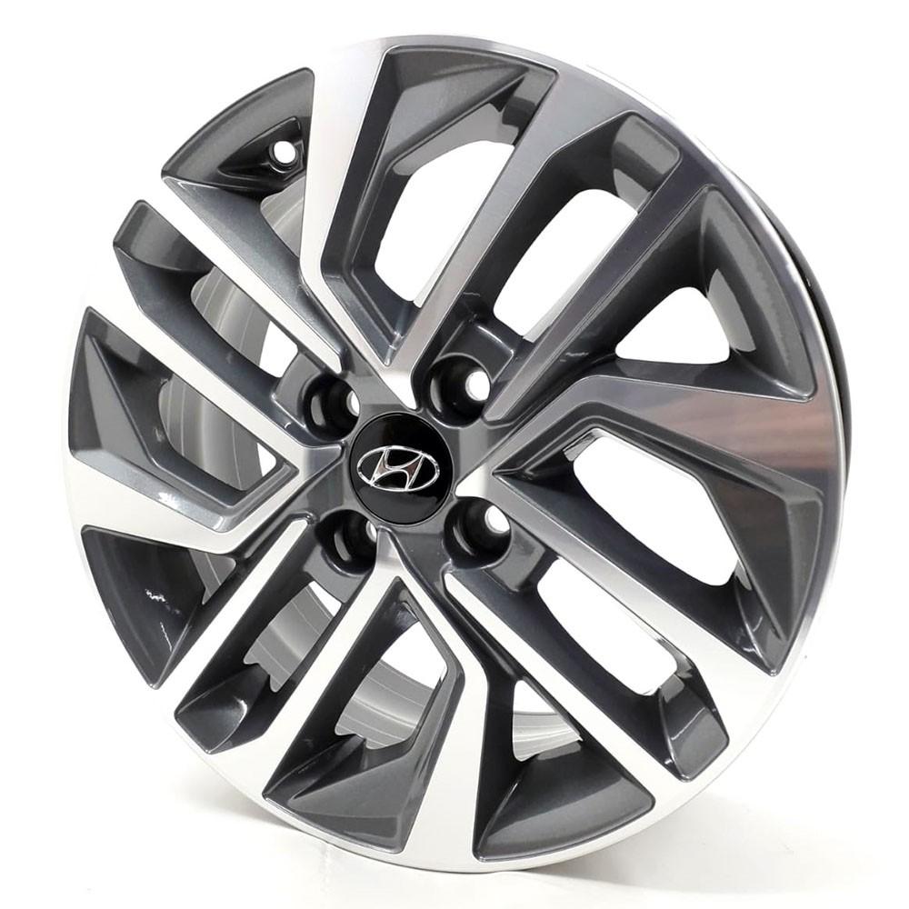 Jogo de Rodas New Hyundai Hb20 2020 Aro15 S20 GD