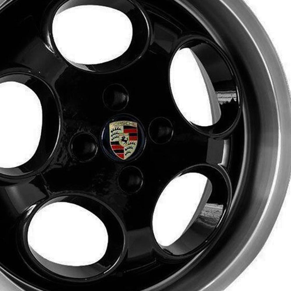 Jogo De Rodas  Porsche Aro 17 4x100 Tala 6 M6 BD