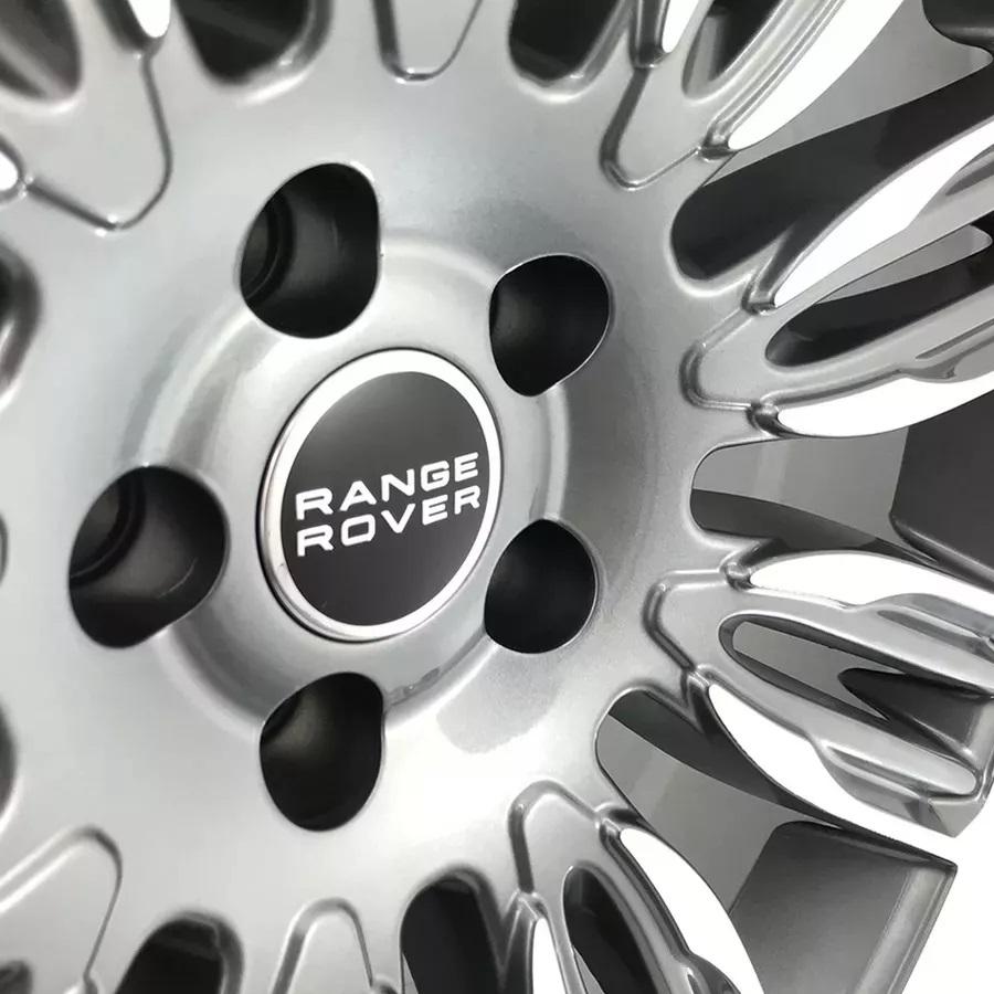 Jogo De Rodas Land Range Rover Velar Aro 22 5x120 Tala 9 L4 GD