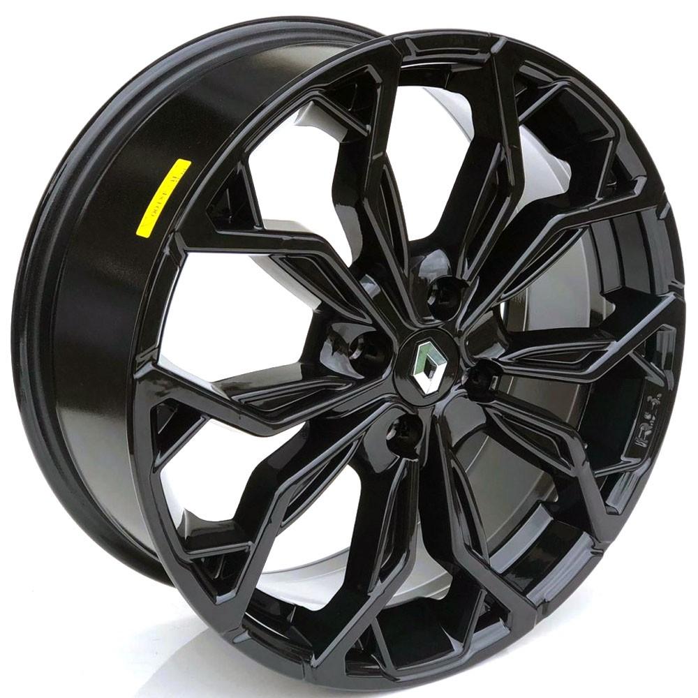 Jogo de Rodas Renault Sandero Rs Aro 17 4x100 M16 Black