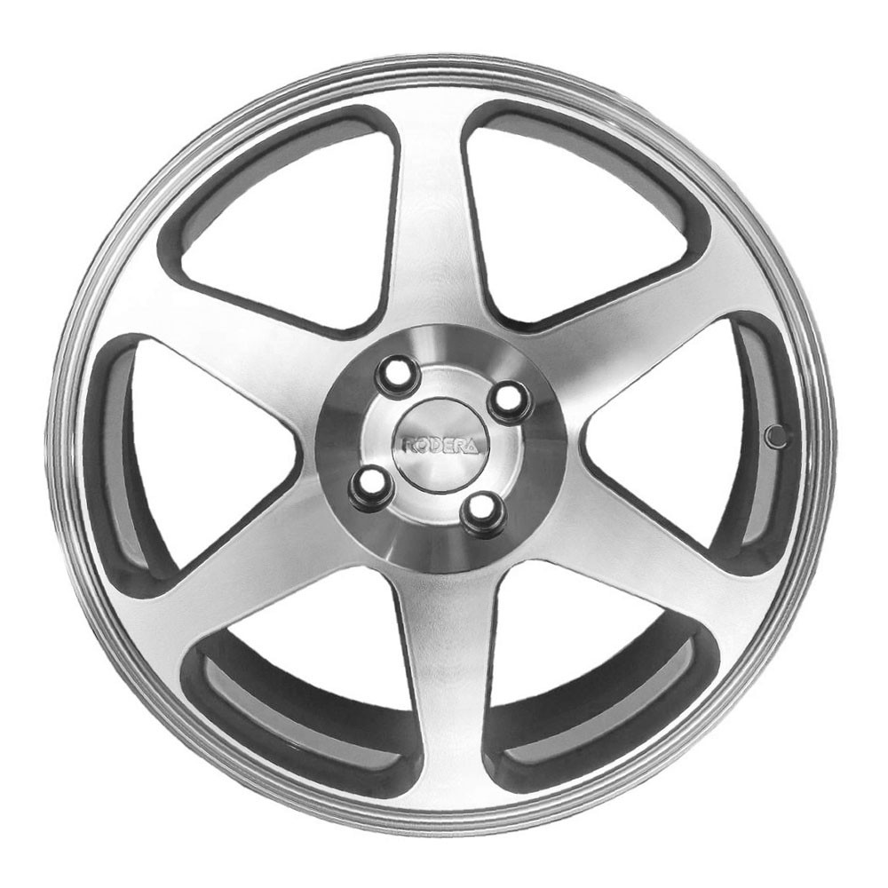 Jogo de Rodas Rodera GT Aro 17x8 4X100 Diamantada