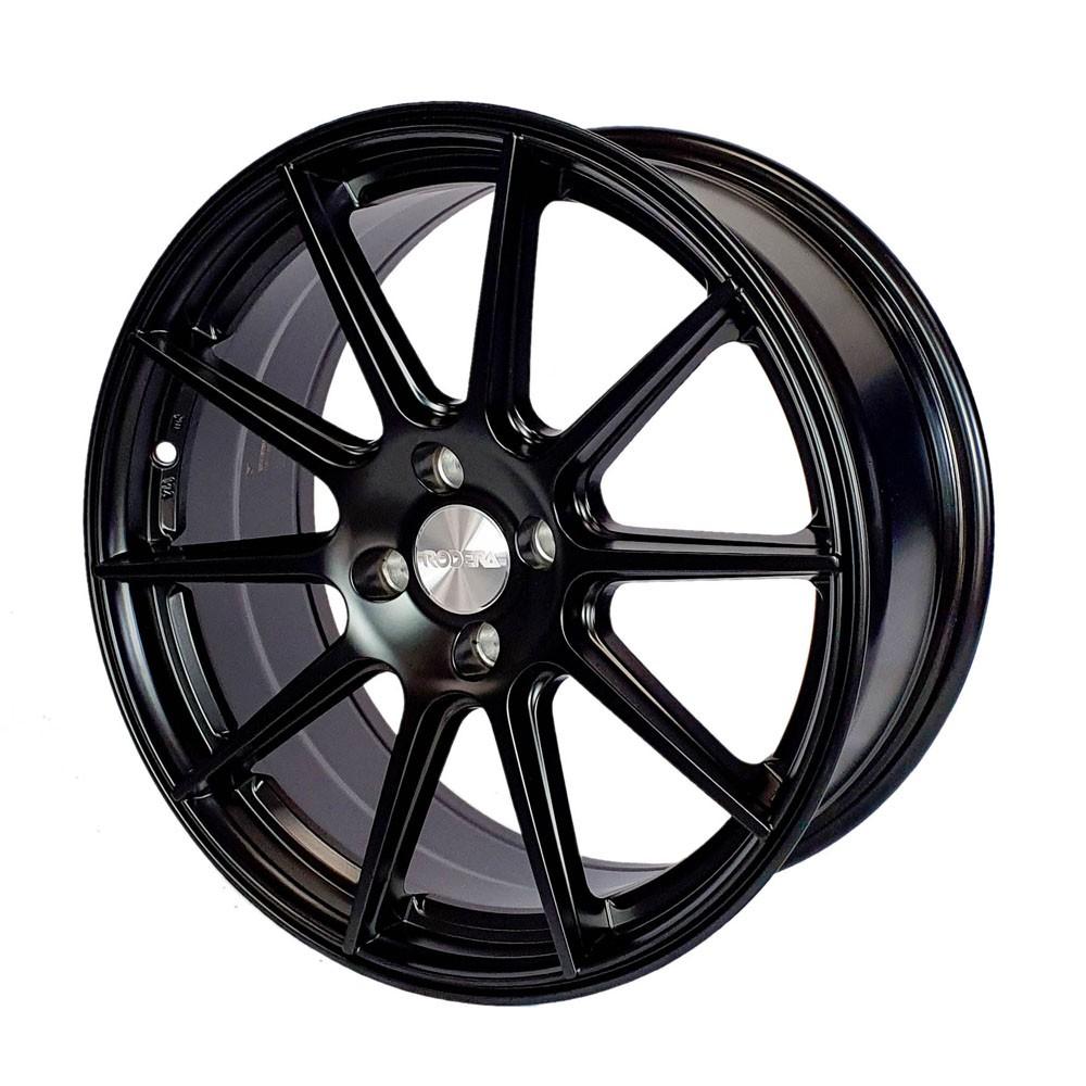 Jogo de Rodas Rodera GTR Aro 17x7,5 4x100 Black