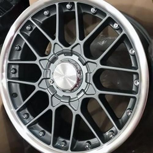 Jogo de Rodas Rodera RS2 Flat Aro 17x7,5 4x100/5x100 Grafite