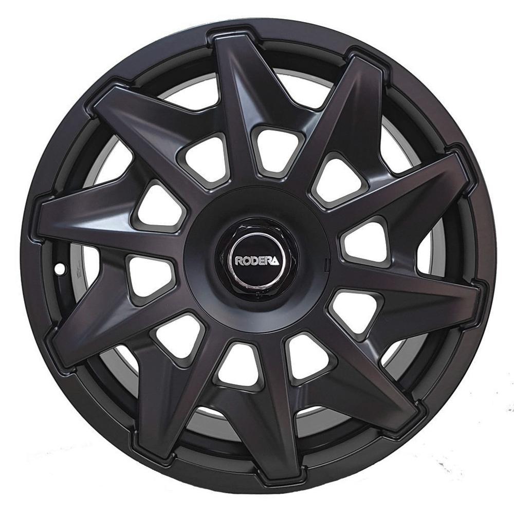 Jogo De Rodas RVT Rotiform Aro 17x8,0 4x100/5x100 Rodera Black