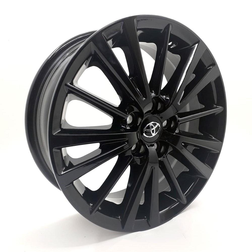 Jogo de Rodas Toyota Corolla 2015 Xei Aro 16 R64 Black