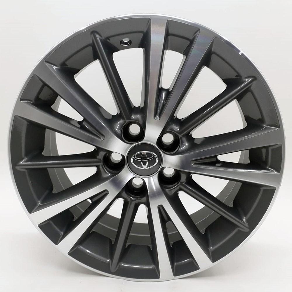 Jogo de Rodas Toyota Corolla 2015 Xei Aro 16 R64 GD