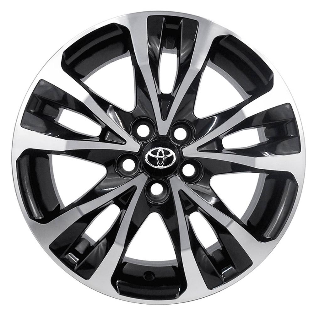 Jogo De Rodas Toyota Corolla 2018 Aro 17 5x100 Tala 7 R89 BD