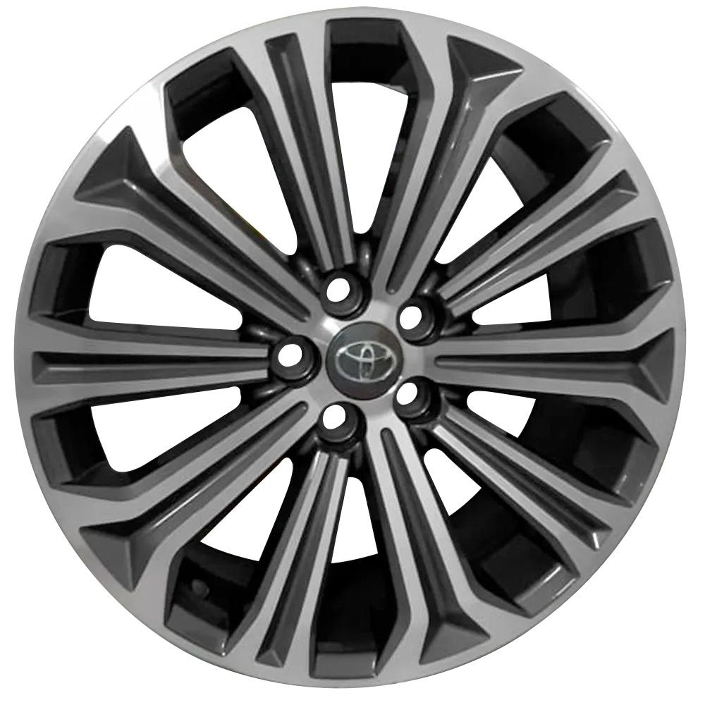 Jogo De Rodas Toyota Corolla Hibrido Aro 17 5x100 Tala 7 S22 GD