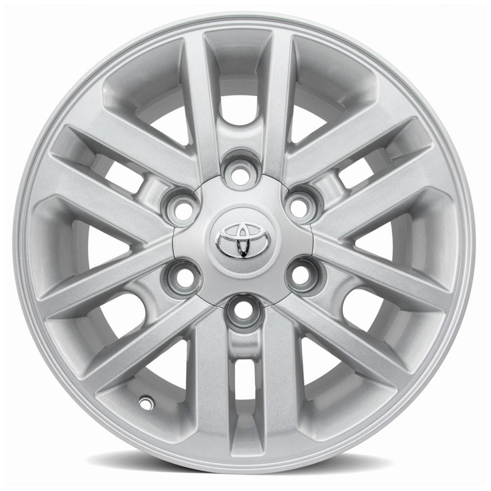 Jogo de Rodas Toyota Hilux 2012 Aro 17 6x139 R37 SS