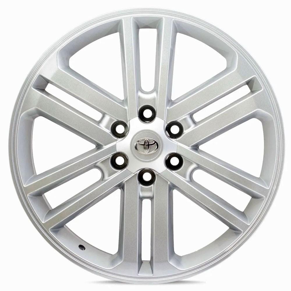 Jogo de Rodas Toyota Hilux 2012 Aro 22x9 6x139 R37 HG