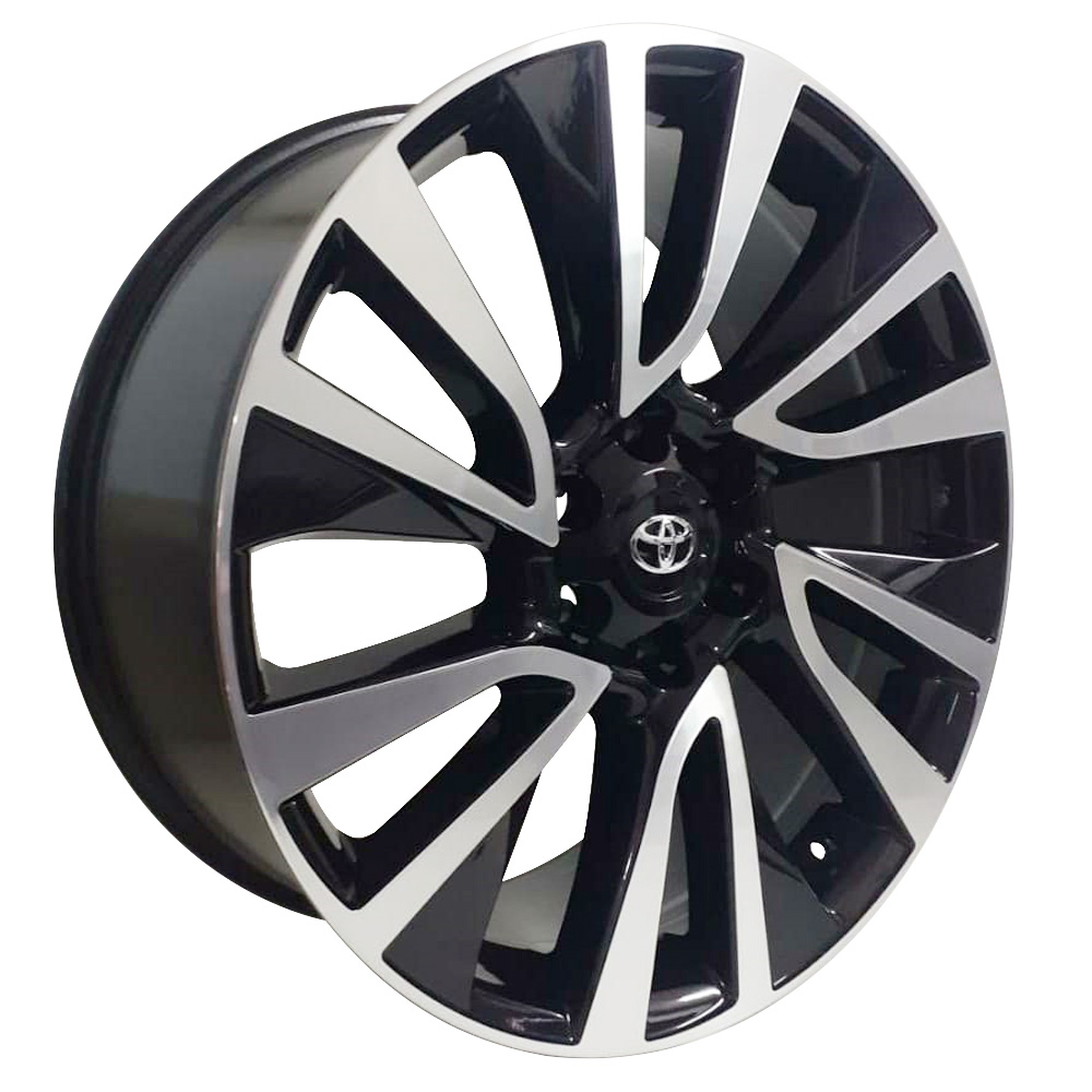 Jogo De Rodas Toyota Hilux 2021 Aro 22 6x139,7 Tala 9 S32 BD
