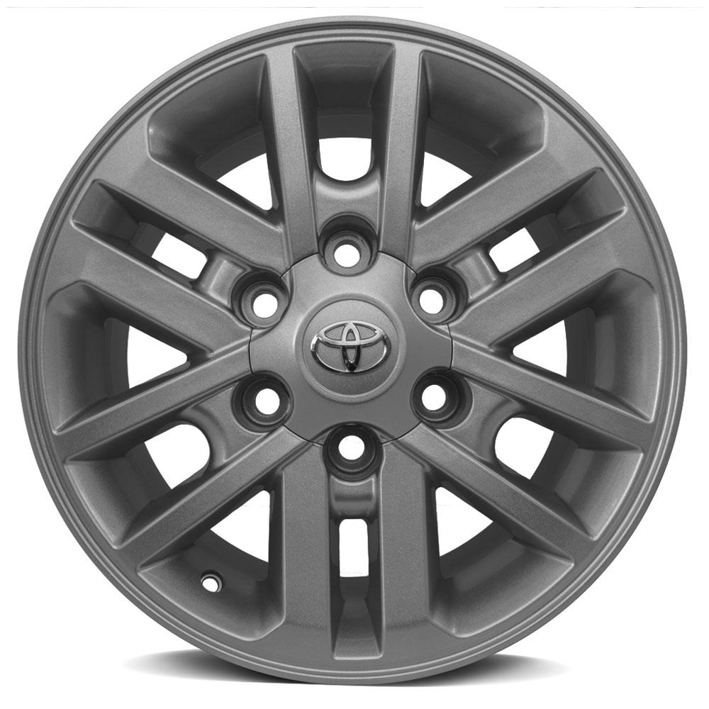 Jogo De Rodas Toyota Hilux Aro 17 6x139,7 Tala 7 R37 GF