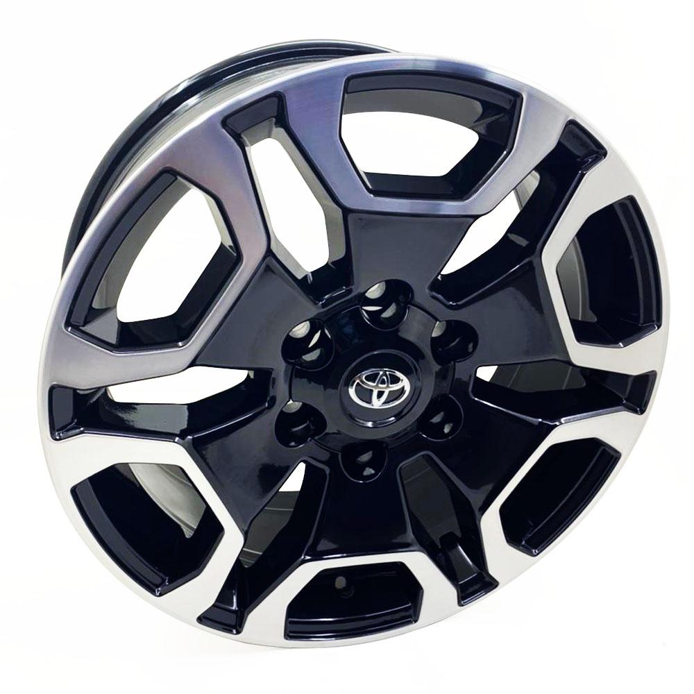 Jogo De Rodas Toyota Hilux SRX Aro 22 6x139,7 Tala 9 S31 BD